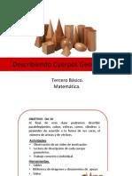 CLASE 3° CUERPOS GEOMÉTRICOS