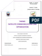 Satellite Communications Link Optimization