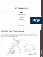 Pantai Kerachut Site Analysis