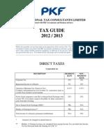 Tanzania Tax Guide 2012