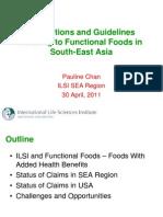 regulationsforfunctionalfoodsinseasia-120701085235-phpapp02