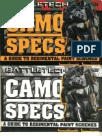 BattleTech 1632 - Camo Specs