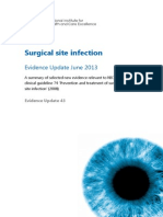 Surgical+Site+Infection+Evidence+Update+June+2013