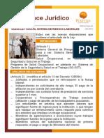ley 1562 Avance Jurídico - Edición EXTRA