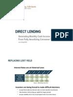 1. Direct Lending Fund General Fund Presentation v2