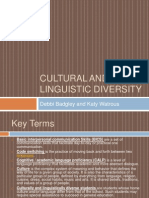 cultural and linguistic diversity presentation