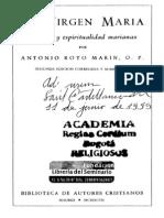 La Virgen María (Teología  y espiritualidad  marianas) - P. Royo Marín.pdf