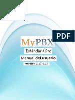 MANUAL DE CENTRAL TELÉFONICA MyPBX