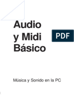 Audio y Midi Basic o