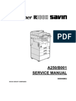 Ricoh Aficio 250 Service Manual