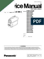 VDR-D50 service manual