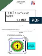 143769217 K to 12 Curriculum Guide Filipino Pamantayang Pangnilalaman Pamantayan Sa Pagganap