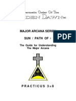 GOLDEN DAWN 3=8 Marjor Arcana Series - Sun