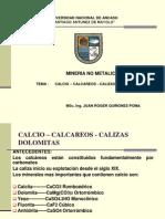 Calcio- Calizas Dolomitas