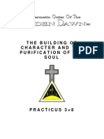 GOLDEN DAWN 3=8 The Building of Character and the Purification of the Soul