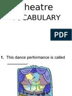 Theatre Vocabulary - TEST (19!08!2009)