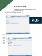SAP PP Manual(Today)