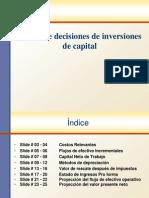 Toma de Decisiones de Inversiones de Capital