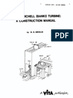 Small Michell (Banki) Turbine Construction Manual