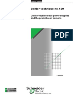 Uninterruptible Static Power Supplies and the Protection of Persons