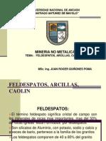 Feldespatos, Arcillas, Caolín