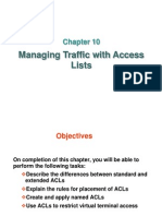 Chapter 10 - Access Control Lists