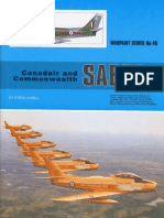 (Warpaint Series No.40) Canadair and Commonwealth Sabre
