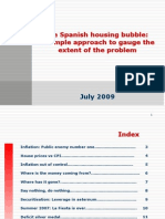 Spanish Housing Bubble Jul09