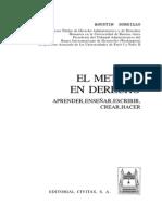 Agustin Gordillo - El método en derecho