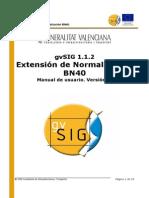 Gvsig 1 1 2 Normalization BN40 Man v1 Es