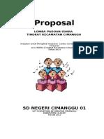 Proposal Lomba Paduan Suara