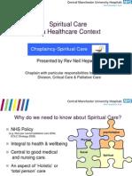 Spiritual Care Present at i i On