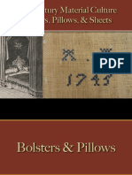 Bedding - Pillows & Bolsters