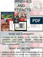 Furnishes n Artifacts