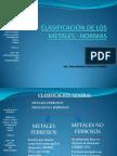 Clasificacindelosmetales Normas Paraelfba 130412114637 Phpapp02