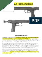 Welrod Silenced Gun
