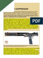 The Welrod Suppressor