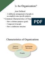 OB Organizations