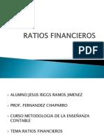 Ratios Financieros Chaparro