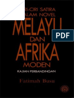 Ciri-ciri Satira Dalam Novel Melayu dan Afrika Moden