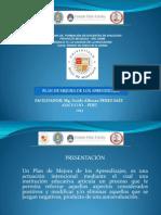 Plan de Mejora 2014 Ppt