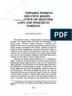 Reproductive Rights in Pakistan