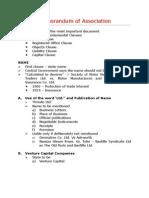 2 - Memorandum of Association