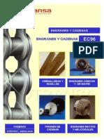 Ec96 Cotransa Catalogo Engranes y Cadenas