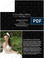 Cuillin Hills Hotel Wedding Brochure