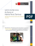 Proyecto Rural Tambo Peru