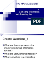 03 Gathering Information and Scanning the environment