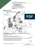 Geografie Uniunea Europeana Romania Partea I Www.variantebacalaureat.com