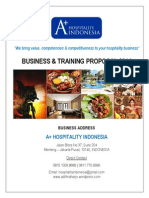HOTEL TRAINING PROGRAM - 2014 