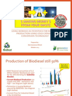 Making Diesel From Your Palm Oil Mill Waste
